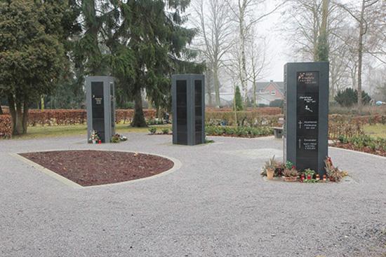 Urnenstele, Friedhof Ahlen